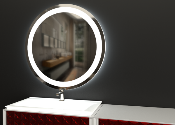 зеркало для ванной ЛУНА-01