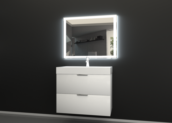 зеркало для ванной СИГМА-04