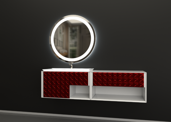 зеркало для ванной ЛУНА-02