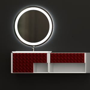 зеркало для ванной ЛУНА