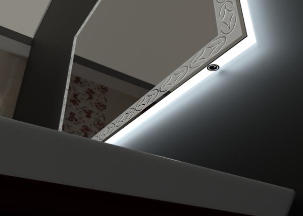 зеркало для ванной ТЕТА-03