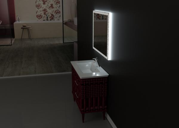 зеркало для ванной ТЕТА-02